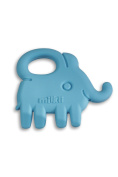 Milkii Elephant Silicone Teether - Sky Blue