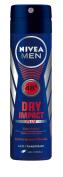 Nivea Men Dry Impact Plus Anti-Transpirant Spray Pack of 6 x 150 ml