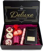 BRUBAKER Bath Melt Gift Set 'Deluxe Cranberry' Vegan and Handmade