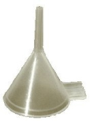 3 x Very Small Plastic 2.1cm Mouth (Internal) Diameter Filling Funnel for Atomizers & Small Bottles