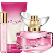 Cherish the Moment Set - 50ml EDP, 10ml Purse Spray and 150ml Body Lotion by Abbey Clancy for Avon