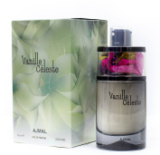 Vanille Celeste by Ajmal Vanilla Jasmine Orchid Orange Blossom Pear EDP 75ml