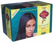 Hawaiian Silky Moroccan Argan Oil Hydrating Sleek No Lye Conditioning Relaxer Regular