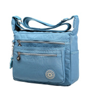 EGOGO Messenger Cross-body Bag Shoulder Bag with Zipper Pockets