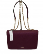 Pollini Women's Cross-Body Bag Burgundy