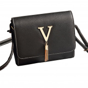NE Norboe Women's New Style PU Leather Cross Body Fashion Letter Shoulder Bag