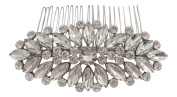 Pick A Gem Wedding Hair Accessories Vintage Diamante Crystal Cluster Bridal Hair Comb Bridesmaid Mother of The Bride