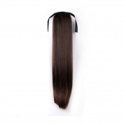 Hrph New Fashion Straight Cute Ponytail Hair Piece Extensions Ponytail Wig