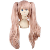 Tqglobal Enoshima Junko Dangan Ronpa Zero Long Brown Pigtails Anime Hair Wig
