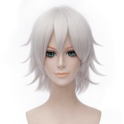 8 Colours New Fashion Popular Style Short Layered Basic Cosplay Wig+Wig Cap