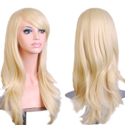 Beauty Star 70cm Women's Hair Wig New Fashion Long Big Wavy Hair Heat Resistant Wig for Cosplay Party Costume with Wig Comb