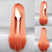 Women's Wig Cosplay Wig Red 80 cm Straight)