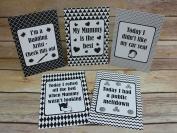 Alternative Baby Milestone Cards Monochrome