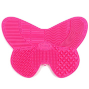 MelodySusie® Makeup Brush Cleaning Mat / Makeup Brush Cleaner Mat with suction cups and 7 Cleaning Patterns / Butterfly Makeup Brush Cleaner - Beautifly