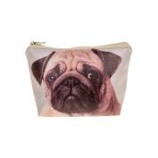 Visage Pug Photo Print Make Up Bag