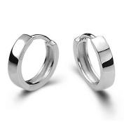 Hosaire Womens Girls Fashion Silver Patinum Ear Buckle Crystal Ear Stud Earrings