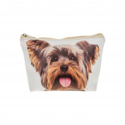 Visage Yorkshire Terrier/Yorkie Photo Print Make Up Bag
