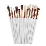 FEITONG 12Pcs Cosmetic Makeup Brush Lip Makeup Brush Eyeshadow Brush