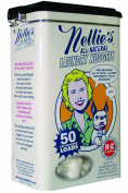 Nellie's All Natural Laundry Nuggets in a Tin 1.55 ea