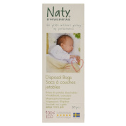Naty by Nature Babycare Eco Nappy Bags 50s