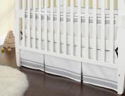 Triboro Just Born Crib Skirt - Grey