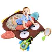 Lovely Owl Baby Activities Mat / Children Crawling Baby Game mats Toys Game Blanket