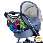 Diago UK Universal Stroller, Pram Shopping Net Black