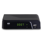 August DVB415 - HD Freeview Set Top PVR Box - DVB-T/T2 Receiver with Multi Media Player,HDMI Out and Digital Coaxial Audio Out - USB PVR Style TV Recorder
