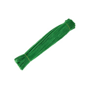 100 Pieces Chenille Stems Pipe Cleaners For Kids Craft Educational Toys 300 x 6 mm Green