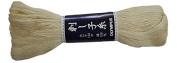 Olympus Sashiko Thread - NATURAL # 102 - 100m Skein - Japanese Quilting & Embroidery