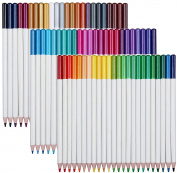 Elves Dolphin 72 No Duplicates Colours Pack Art Drawing Coloured Pencils Set with Tin Case