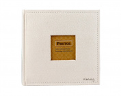 Farway Faux Suede Cover Photo Album Scrapbook-200 Pocket,With Window Frame