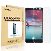 ZTE Zmax Pro Screen Protector, NOKEA [Tempered Glass] with [9H Hardness] [Crystal Clear] [Easy Bubble-Free Installation] [Scratch Resist] (for ZTE Zmax Pro (Z981))