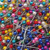 LEFV™ Quilting Pins Ball Head Sewing Pins,Pack of 100,Assorted Colour