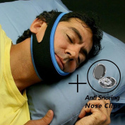[Affordable combination]CAMAC Anti Snoring Chin Strap Anti Snore Belt Anti Snoring Jaw Support Anti Apnea,Anti Snoring Nose Clips,anti snoring devices