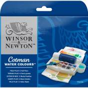 Winsor & Newton - Cotman Water Colour Field Plus Paint Set