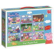 Peppa Pig 9-in-1 Bumper Pack Puzzle