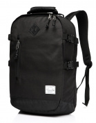 Vaschy Laptop Backpacks Anti-thief Water Resistant Travel Bags fits up to 40cm School Backpack in Black