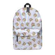 FRINGOO Unisex Boys Girls Backpack School Rucksack Fully Printed Cabin Luggage Travel Gym