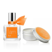 I Am Hot Fragrance Rollerball 10ml & I Am Hot Travel Candle Set