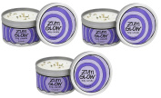 Indigo Wild Zum Lavender Glow Soy Candles 210ml 3 Pack