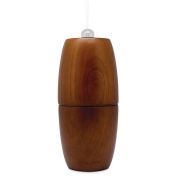 SpaRoom Theralizer Waterless Micro-Air Essential Oil Nebulizer and Oil Diffuser For Aromatherapy and Large Rooms of 90sqm or less, Made Of Dark Wood