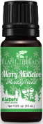 Merry Mistletoe Holiday Synergy Essential Oil Blend. 10 ml. 100% Pure, Undiluted, Therapeutic Grade.