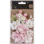 Tales Of You & Me Flowers-Amour de Ma Vie 3.8cm To 12cm , 12/Pkg