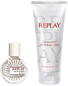 Replay Gift Box for Her contains EDT 20 ml and Body Lotion 100 ml