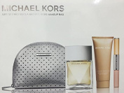 Michael Kors 100ml Edp Spray GIFTSET with Body Lotion and Duel Rollerball / Lip Gloss