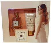 Samantha Faiers La Bella Gift Set contains Shimmer Body Lotion and EDP 100 ml by Samantha Faiers
