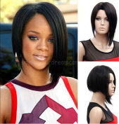 ATOZWIG Fashion New Women Lady Short Straight Hair Full Wig Cosplay Party Anime Hair Wig