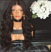 Carina Hair Brazilian Human Hair Body Wave Hair Glueless Full Lace Wig Size:60cm