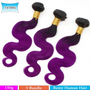Veravicky Hair 3Bundles/lot 150g 50g/pc Short Size 30cm Brazilian Bodywave Human Hair Extension 100% Human Hair Weave